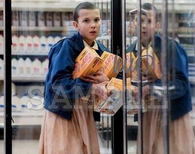 Millie Bobby Brown signed 8x10 Autograph Photo RP -- Free Shipn! Stranger Things