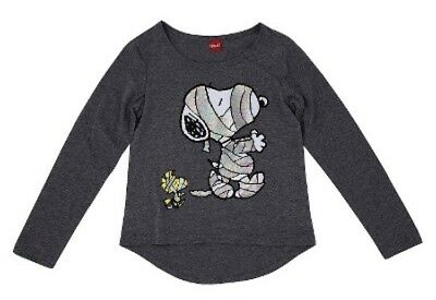 Halloween Snoopy Mummy Youth Girls T-shirt AVAILABLE SIZES: XSmall - XLarge