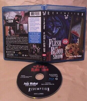 FLESH AND BLOOD SHOW Blu-Ray Kino Redemption pete walker ray brooks 1972 horror