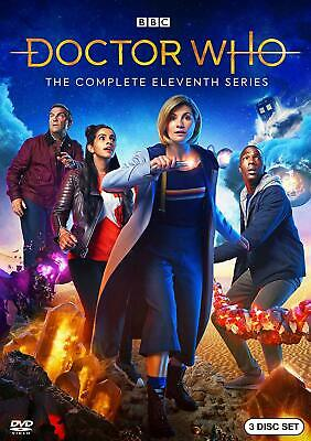 Doctor Who: The Complete Eleventh Season 11 (DVD, 2018, 3-Disc Set)