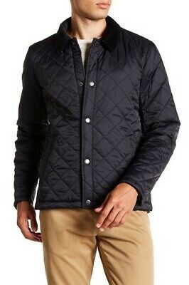 Barbour Holme Quilted Water-resistant Mens Jacket Navy Size Medium $249+