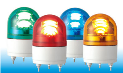 PATLITE RHE RHE-24-R RHE-24-Y LED Rotating Beacon Warning Light Red Amber Blue