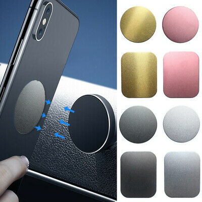 Car Magnetic Sticker Metal Plate Disc Magnet Holder For Cell Phone Mount