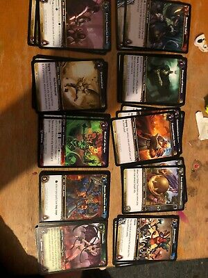 World Of Warcraft Cards (lot4) X 10 Freepost (l)