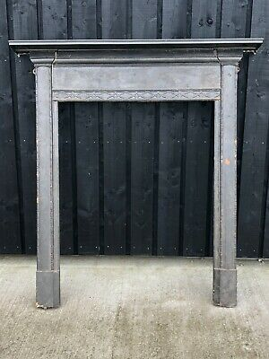 Cast Iron late 19th Century bakers over fire surround