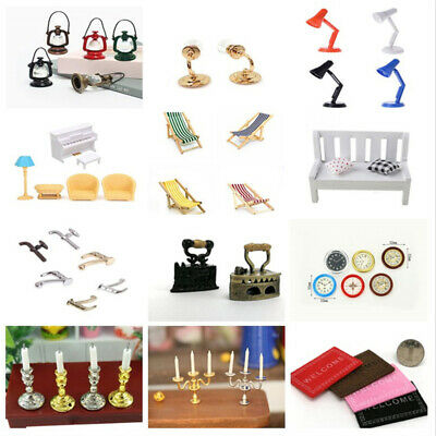Doll House Miniature Accessories DIY Simulation Furniture Dollhouse Decor 1:12