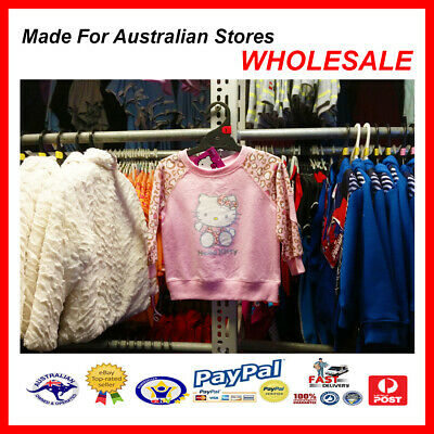 AUS WHOLESALE BABY KIDS CLOTHING Hello Kitty Jumper Top  MYER STOCK *From $5*