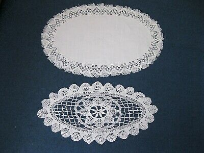 Vintage 1930S 1940S 1950S Table Centres Set Place Mats Butlers Tray Mats Antique