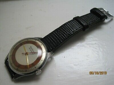 Vintage 40/50's Optima Swiss Made Deco Chrome Plated Gents Mechanical Watch.