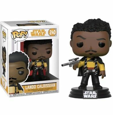 FUNKO POP STAR WARS n°240 - SOLO - LANDO CALRISSIAN - NEUF