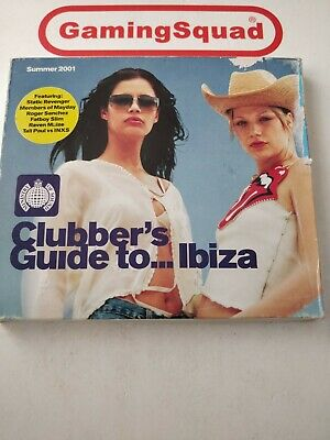 Clubber's Guide to Ibiza, Various Artists CD, Supplied by Gaming Squad