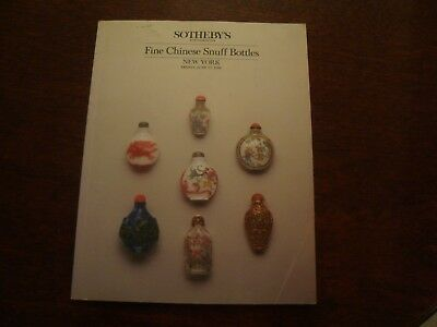 Sotheby's New York Fine Chinese Snuff Bottles 27 June 1986  19/43