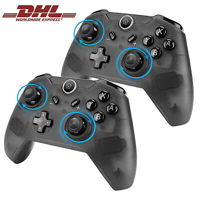 1x /2x Wireless Gaming Controller für Nintendo Switch Gamepad Joystick Gyro Axis
