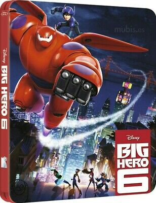 Big Hero 6 Steelbook Blu-Ray