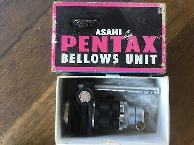 Asahi Pentax Bellows Unit Microscopic Adaptor In Box