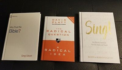 Christian Living Book Set (Platt, Gilbert, Getty) Hardbacks