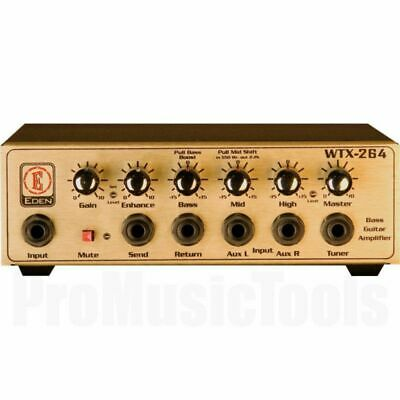 Eden WTX264 Bass Amplifier Head - b-stock * NEW * wtx-264 wtx500 world tour usa