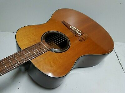 Reduced Flagship Guild Westerly Usa Electro Acoustic Guitar F65ce Late 90s Case Musical Instruments & Gear