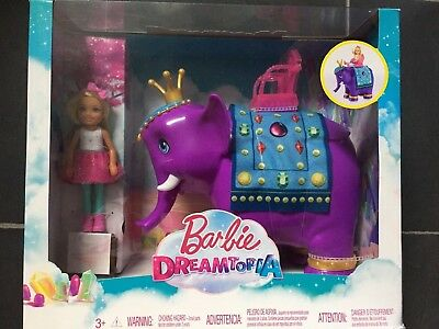 Barbie Dreamtopia Chelsea Doll With Elephant Playset - New and Sealed