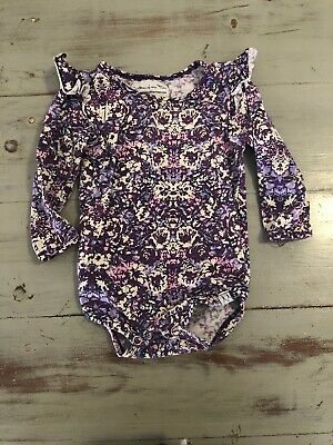 Children of the Tribe.Purple Long Sleeve Suit. Size 00. Excellent Used Condition