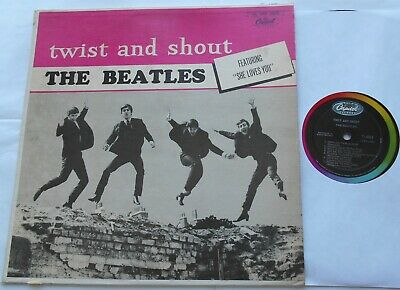 THE BEATLES Twist and shout CANADA 1964 MONO LP T-6054 CAPITOL
