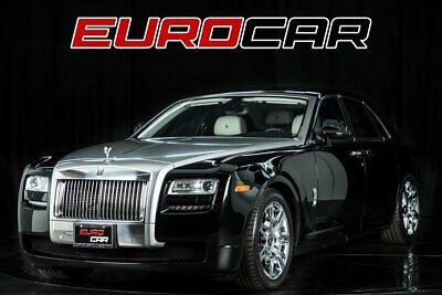 2012 Ghost  2012 Rolls-Royce Ghost, BLACK OVER WHITE, HIGHLY OPTIONED
