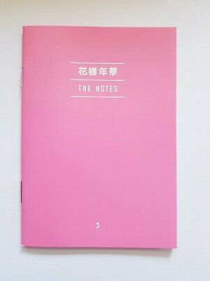 "K-Pop Bts Album ""Map Of The Soul : Persona"" Official Ver 3 The Notes"
