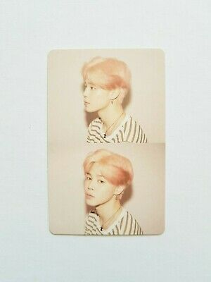 "K-Pop Bts Album ""Map Of The Soul : Persona"" Official Jimin Photocard"