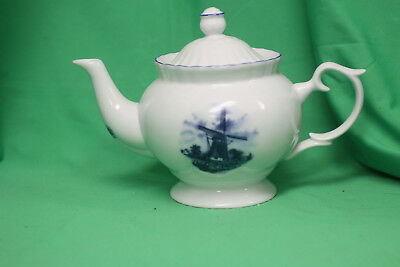 Delft Handcrafted In Holland Tea Pot Ter Steege B V