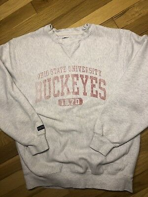 1cfcf938ddf08 VINTAGE OHIO STATE Buckeyes Brutus Mascot Crewneck Sweater 90s XL ...