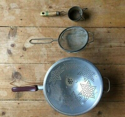 Vintage Kitchenalia - Kitchen Strainer, Sieve and Colander