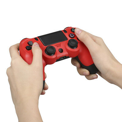 Rosso Ps4 Joystick Gamepad Wireless 6axies Dualshock per Controller per Ps4