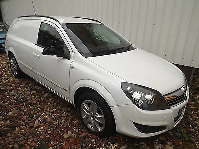 2012 Vauxhall Astra Sportive Van Cdti Damaged Repairable Salvage