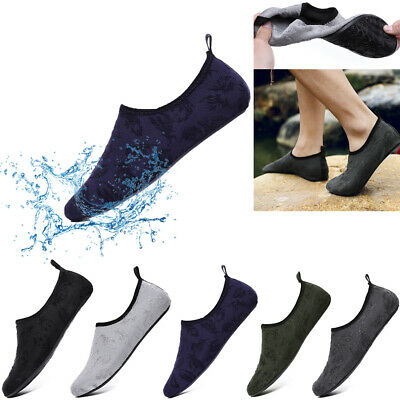 Mens Womens Water Shoes Aqua Socks Beach Swim Wetsuit Shoes Non Slip Size Yoga