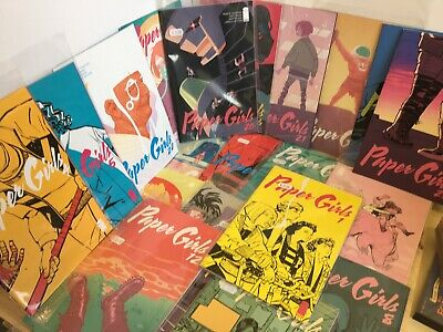 21 x Paper Girls Comics Job Lot Bundle (Image Comics)