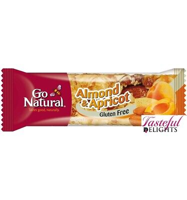 Go Natural Almond Apricot 40g x 16