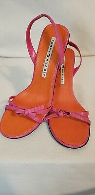 418e9caa8fd Tommy Hilfiger Pink Leather Strappy Sandals. Classy   Sassy! US 8 M  Excellent