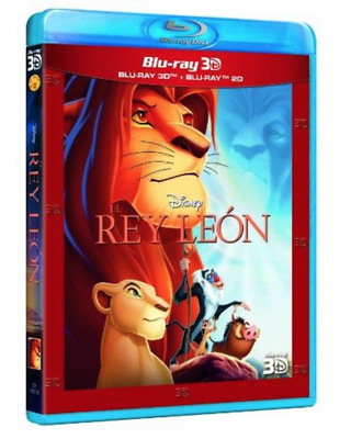 EL REY LEON  3D - 2D   - Bluray Blu ray  LION KING Disney