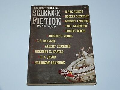 The Most Thrilling Science Fiction Ever Told #2 1966 Asimov Bloch Ballard Sf