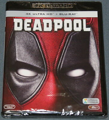 DEADPOOOL - Bluray Blu ray  - 4K UHD - ULTRA HD