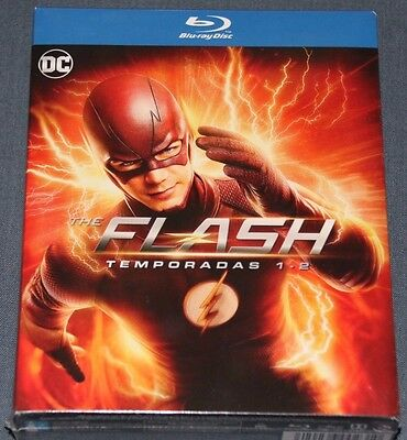 THE FLASH  Temporada 1-2 - BLURAY blu ray