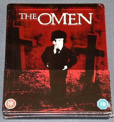 THE OMEN - Bluray Blu ray STEELBOOK - LA PROFECIA .-