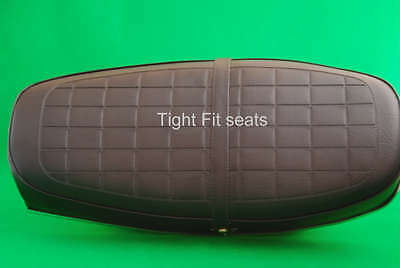 Motorcycle Seat Cover Complete With Strap - HONDA CB250 / 350 K4 - NO HONDA LOGO