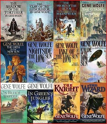 (MP3-CD) 12 AUDIOBOOKS – Gene Wolfe Audiobook Collection