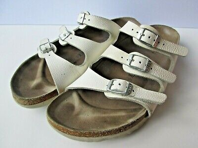 69d79e2fffbc Birkenstock Sz 40 Women s 9 off-white Cream