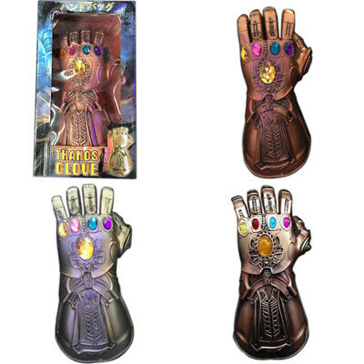 Thanos Infinity Gauntlet Marvel Legends Glove Avengers Cosplay Toys Boxed Model