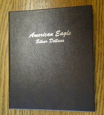Complete Set Of 34 Uncirculated American Silver Eagles ~ 1986 - 2019