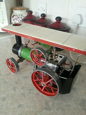 Mamod TE1 early steam tractor