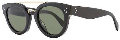 c4da9a6384161 CELINE SUNGLASSES BLACK Cl 41755 8073H Grey Polarized Authentic 55 ...