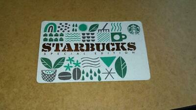 """Starbucks Card 2019 """"Special Edition"""" Recycled Paper + Bonus"""